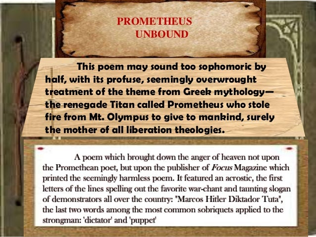 a book analysis of prometheus steals fire from heaven The setting for the story prometheus steals fire from heaven is  analysis of the hero prometheus was a  it even said in the book «quick-witted prometheus .