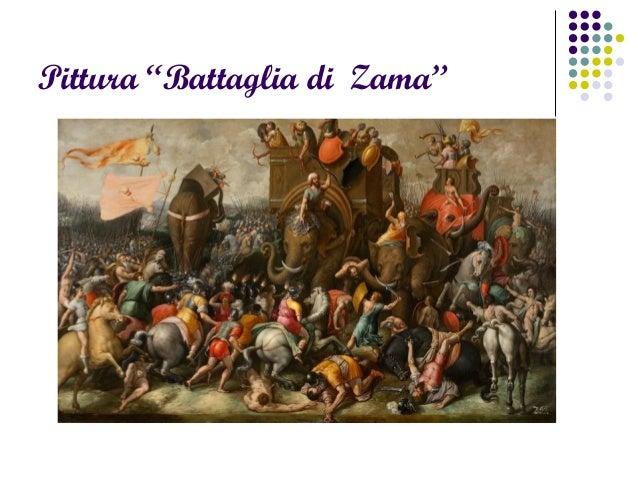 """Pittura """"Battaglia di Zama"""""""
