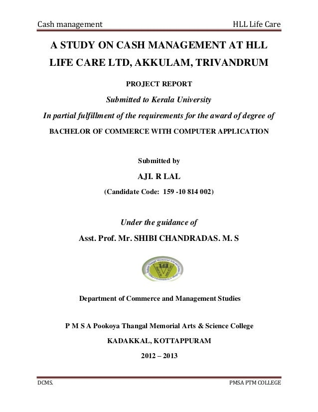 hll lifecare limited organizational study Hll management academy, is the educational initiative of hll lifecare ltd, the public sector enterprise under the ministry of health and family welfare, government of india hma envisions itself as a knowledge platform for individuals, institutions and communities of different knowledge needs.