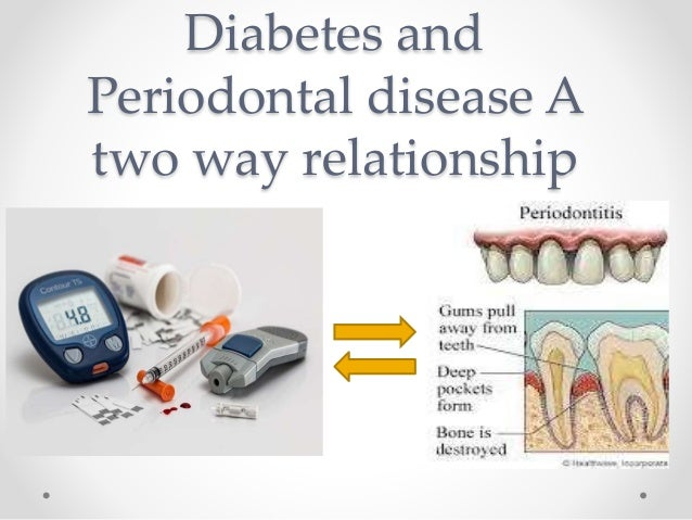 diabetes and periodontal disease an example of oral systemic relationship