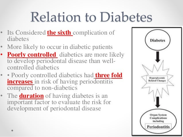 periodontal disease and diabetes mellitus a two way relationship