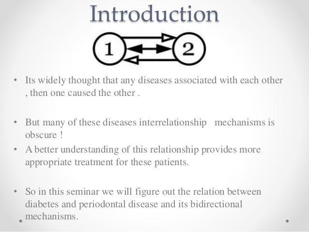 bidirectional relationship between diabetes and periodontal disease