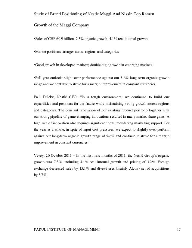 market study of nestle philippines All study results are available to download  nestle advertising spending in the united states from  nestlé's market share of the global chocolate market from.