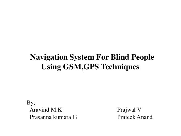 Projects using gsm techniques