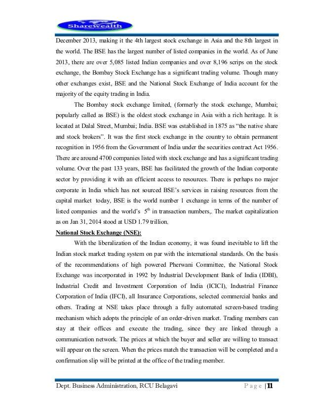bombay stock exchange listed companies pdf