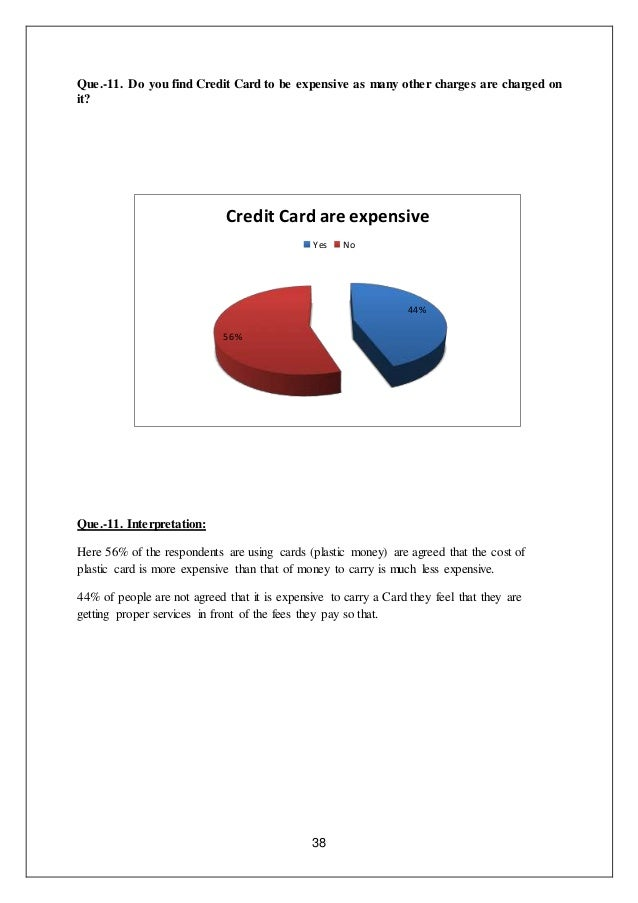 credit card usage thesis Card usage: a study of pakistani consumers by afshan ahmed  the factors  contributing towards the selection of (a) one particular credit card over the other  a.