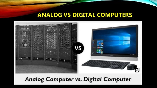 types of computer analog digital hybrid pdf