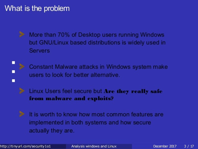 Analysis and Exploiting Windows and Linux Security