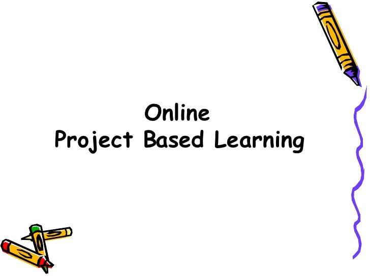 Project Based Learning Webinar