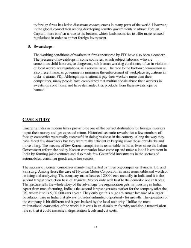 In defense of international sweatshops - Essay Example