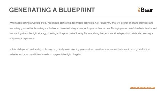 How to scope a website project blueprint about this guide 5 malvernweather Gallery