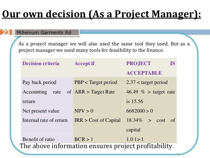 limitation and benefits arr npv irr pbp Net present value accounting rate of  arr is a non discounted capital investment appraisal technique in  even though irr and npv are related capital investment.