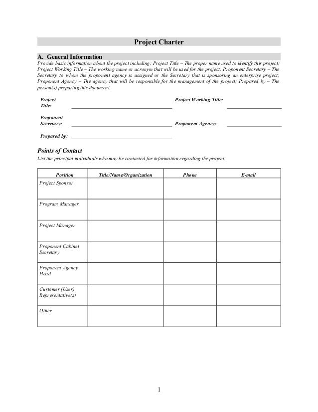 Project charter-template