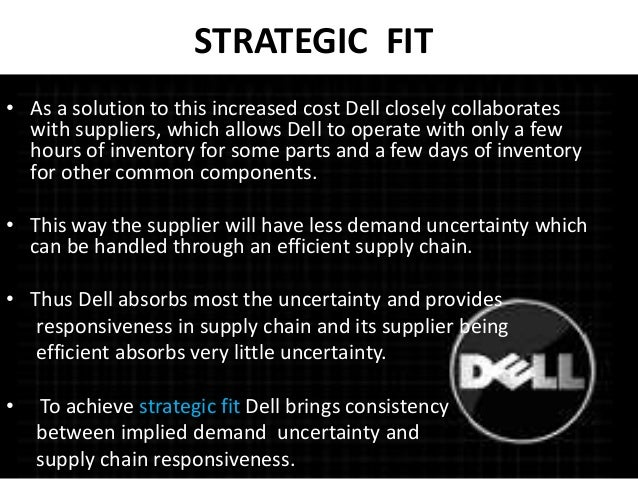 demand and supply for dell products (together, foxconn), acquires sole control over dell products  supply-side  substitutability with switches it undertook at minimal cost from the  with  components, the demand for its component products is not driven by its.