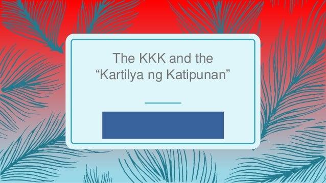 """The KKK and the """"Kartilya ng Katipunan"""""""