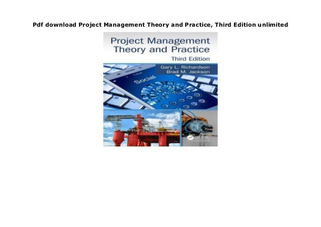 Project management theory and practice
