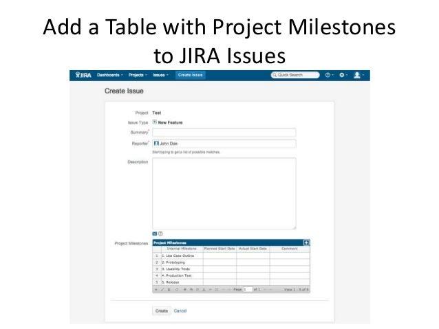 project milestone tracker