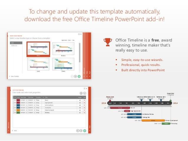 office timeline download