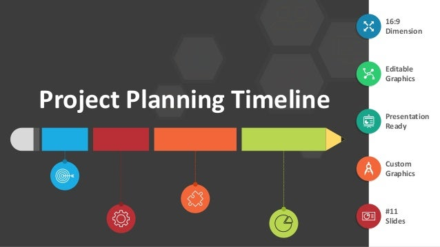 project planning timeline editable ppt