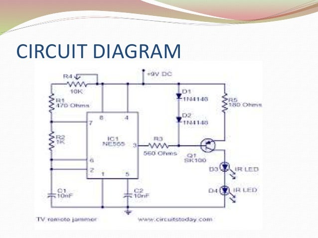project ppt rh slideshare net tv remote control circuit diagram tv remote control schematic diagram