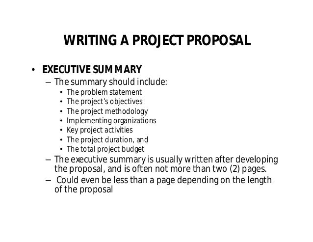 Project proposalwritingbyojiogbureke