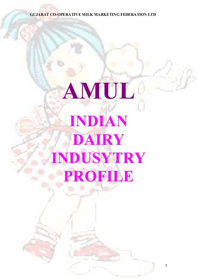 project report on amul milk View essay - a project report from supply cha 452 at virtual university of pakistan amul is the largest producer of milk and milk products in the world 4 strategy of amul amul's strategy is broadly divided into two components.