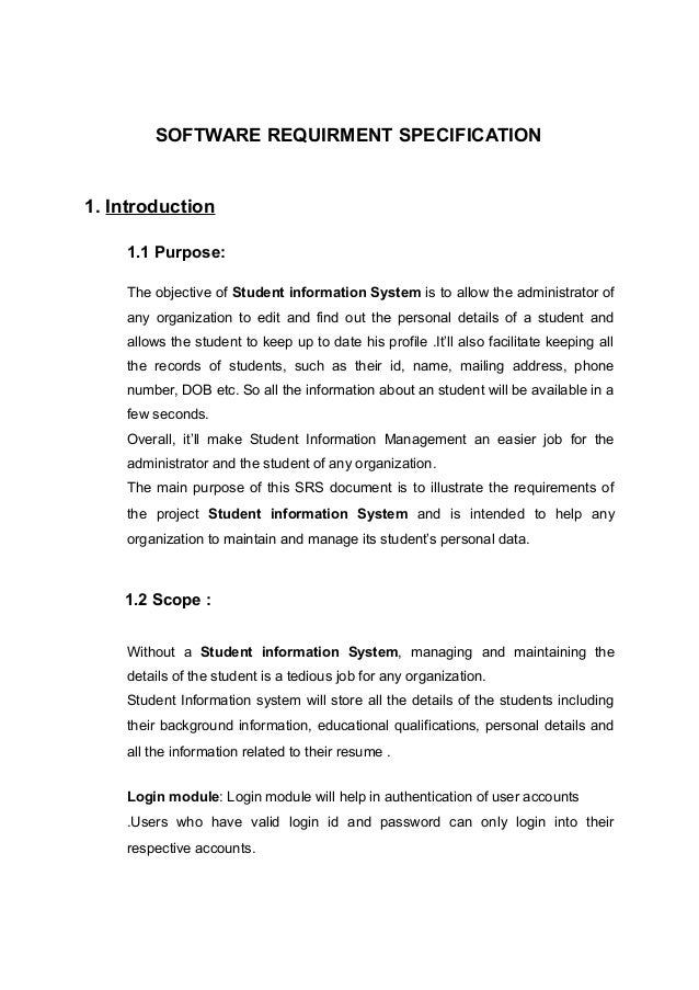 student registration system project documentation