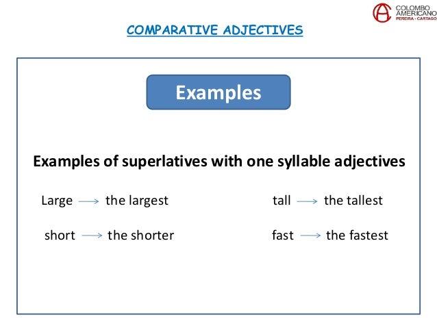 c7 u10 project superlative adjectives