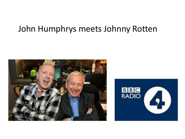 John Humphrys meets Johnny Rotten