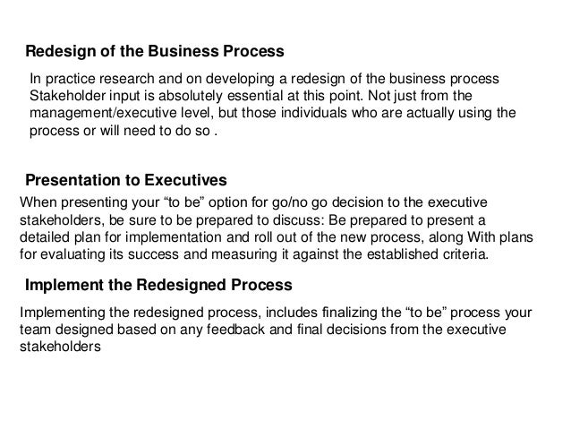 Business Process Management Essay