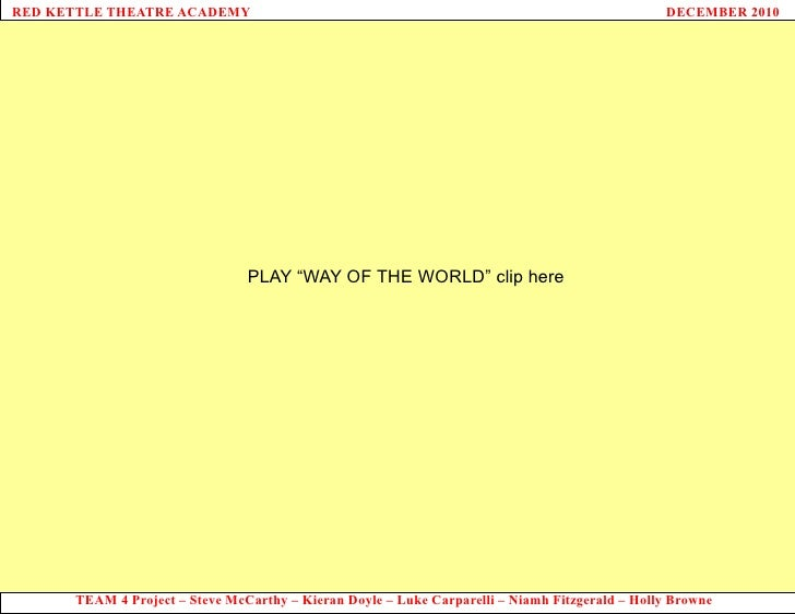 """PLAY """"WAY OF THE WORLD"""" clip here"""