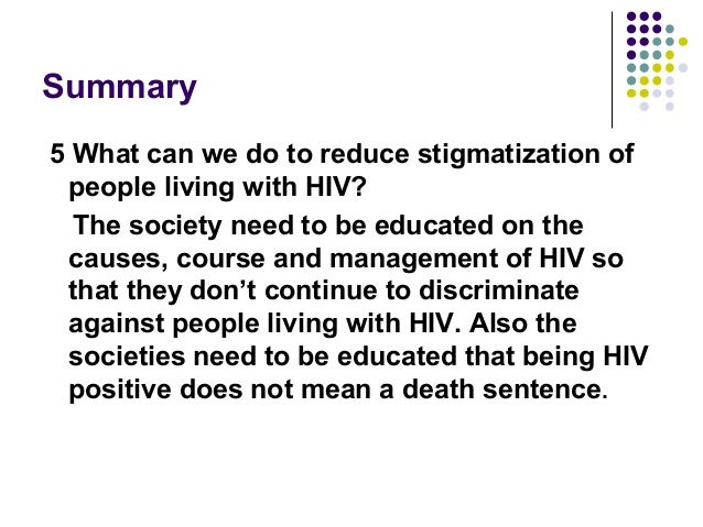 HIV STIGMATIZATION IN NIGERIA