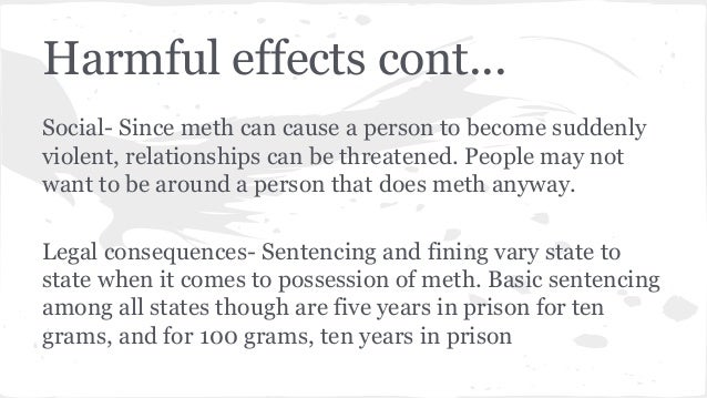 relationships on meth