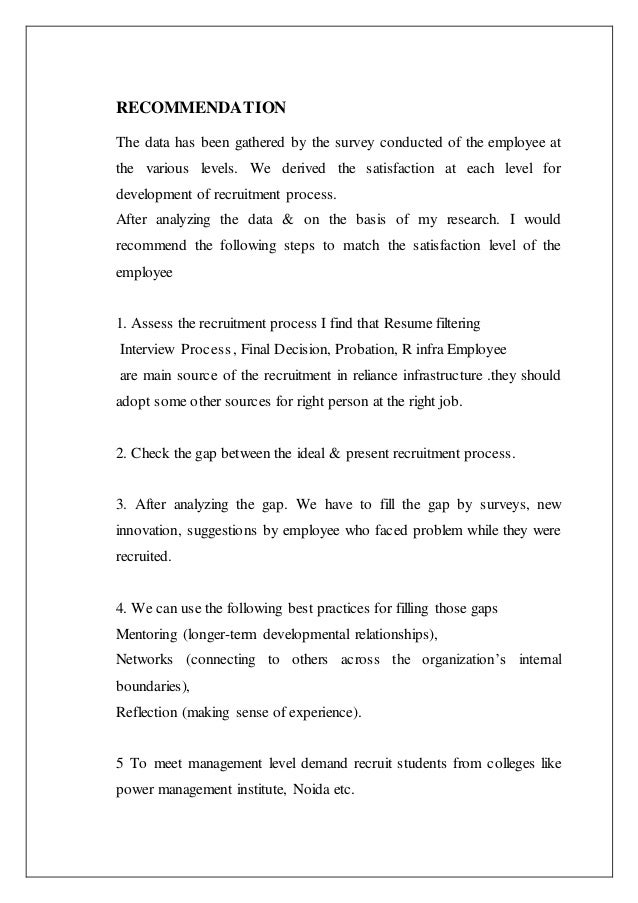 Recruitment and selection policy of reliance 65 fandeluxe Gallery