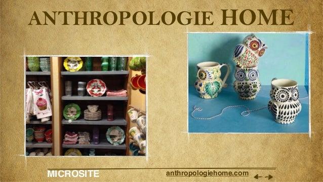 MICROSITE anthropologiehome.com ANTHROPOLOGIE HOME