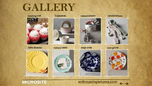 MICROSITE anthropologiehome.com GALLERY nesting owl Cupcakes raised bloom raised bloom latte dessert nature table saga sid...