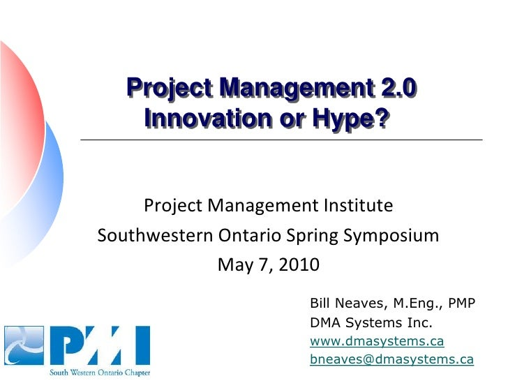 Project 2.0   Innovation Or Hype