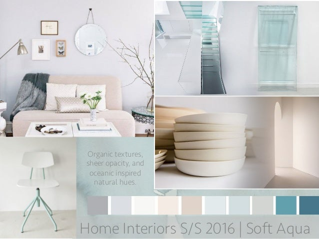 Spring 2016 Home Interior Trend Boards