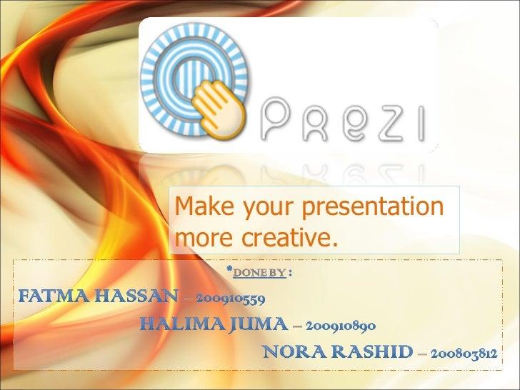how to make a prezi presentation private