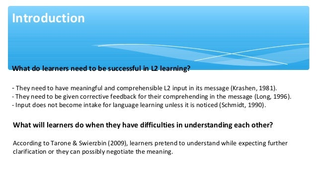 a précis on negotiating with learners Sense of what students already believe about negotiation, it is hard to know what   spond to the first comment, a summary or analysis by the teacher – will best.