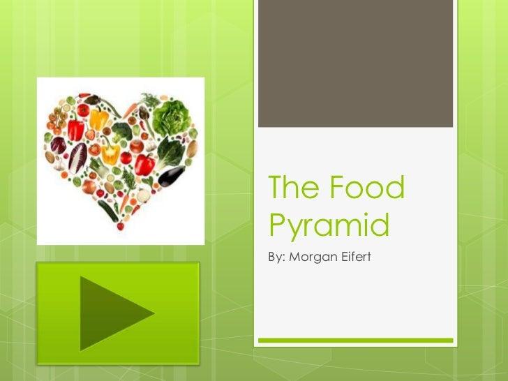 The FoodPyramidBy: Morgan Eifert
