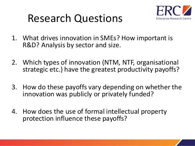 Project 3  Innovation in smes Slide 3