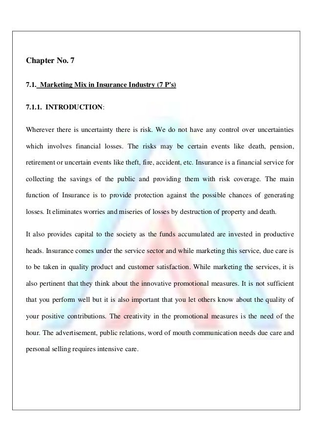 review of literature of life insurance Institutes like the state life insurance corporation of pakistan  introduction  section 20 provides a literature review about the insurance, its history and.