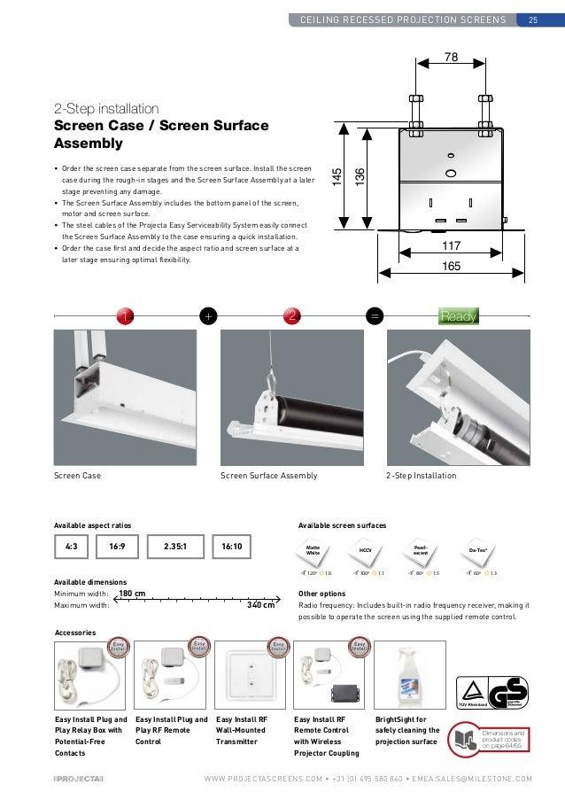 Projecta Catalogue 2014