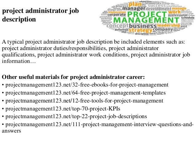System Administration Manager Job Description