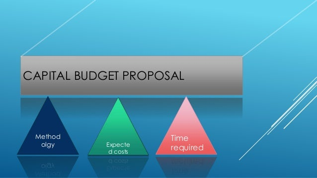 steps involved in capital budgeting proposals The steps involved in the capital budgeting process are: (i) project generation - investment proposals of various types may originate at different levels within a firm.