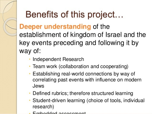 Deeper Learning A Collaborative Classroom Is Key ~ Project based learning