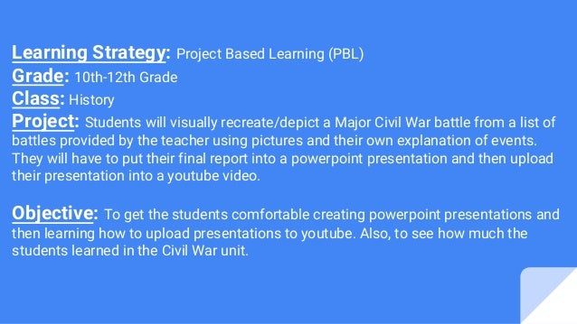 project based learning2