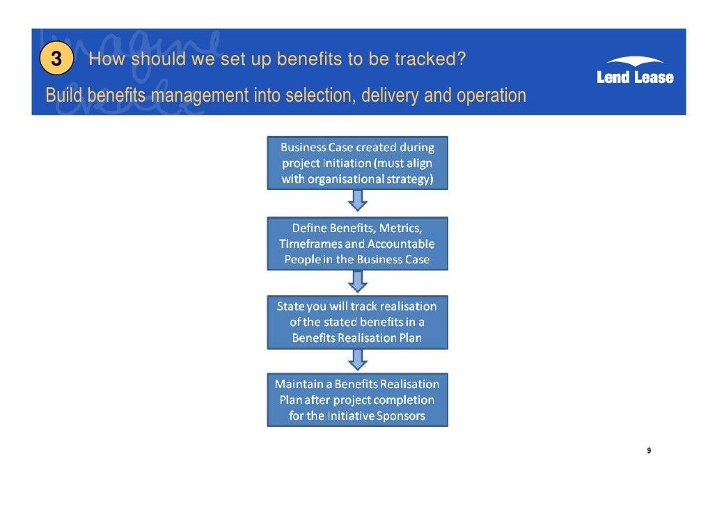 Project Benefits Realisation G Byatt