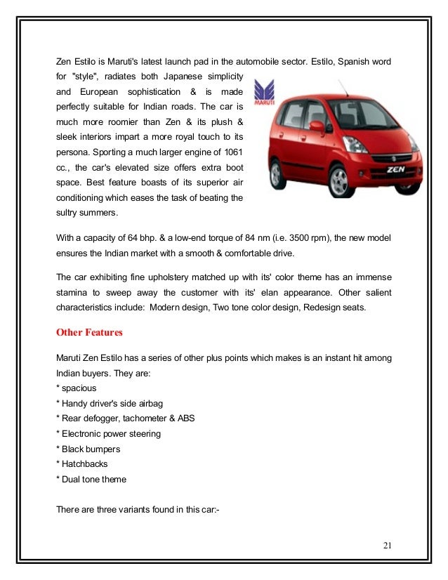 Maruti Omni Seating Arrangement Project By Saurabh Gupta